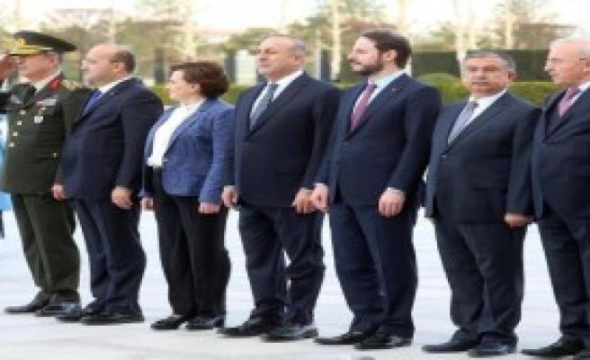 Erdoğan, Poroşenko'yu Resmi Törenle Karşıladı