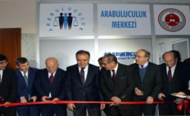 Erzurum'da Arabuluculuk Merkezi Açıldı