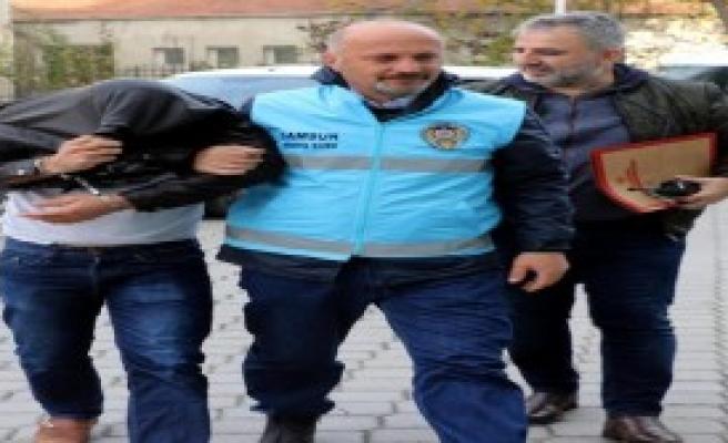 Tacizden Gözaltına Alındı