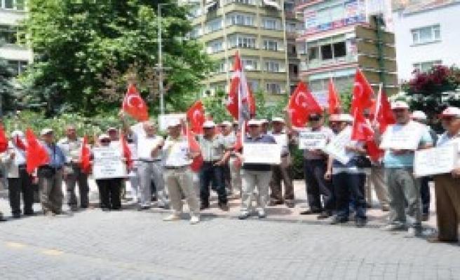 Eskişehir'de '91'inci Sessiz Çığlık' Eylemi