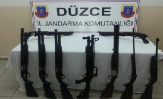 Evden Tüfek Satışına Jandarma Baskını
