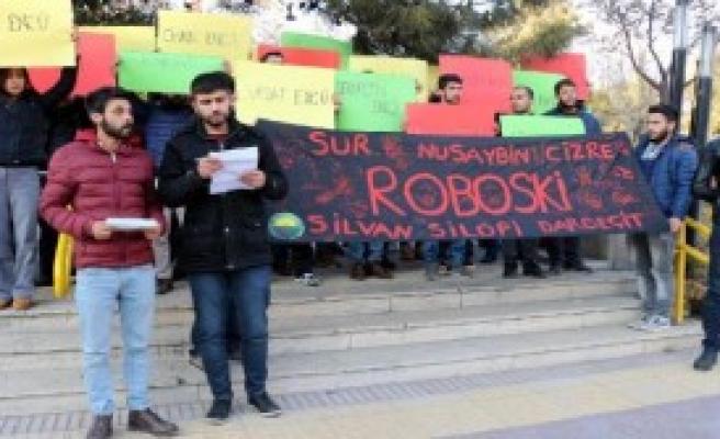 Eylemcilere 'Dağılın Gidin' Tepkisi