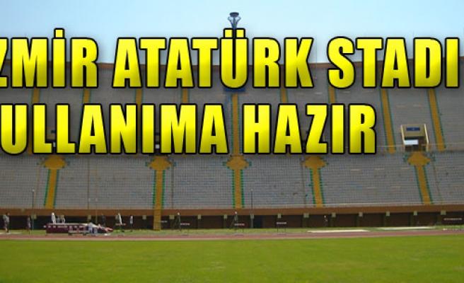 Atatürk Stadı Hazır