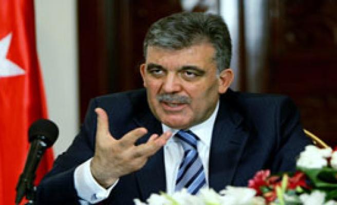 Gül'den Parti Liderlerine Uyarı
