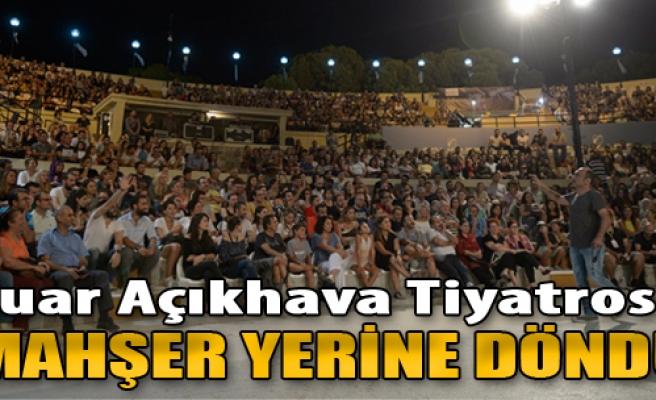 Fuar Açıkhava Tiyatrosu Mahşer Yerine Döndü