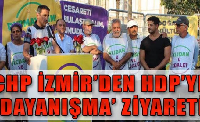 CHP'den HDP'ye Ziyaret