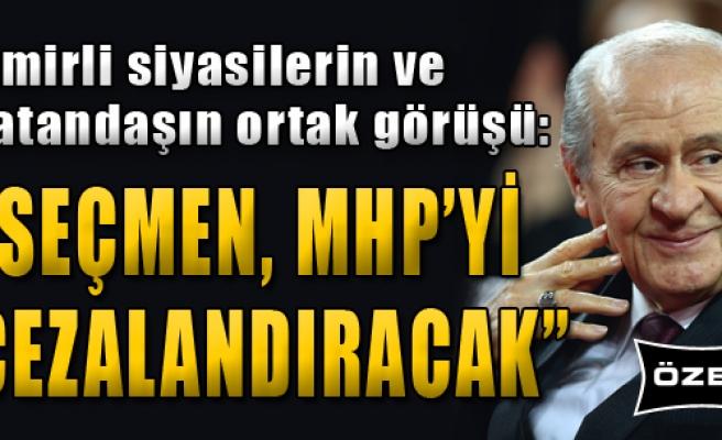 'Seçmen, MHP'yi Cezalandıracak'