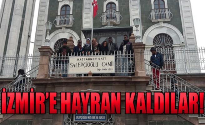 Yabancı Öğrenciler İzmir'e Kaldılar