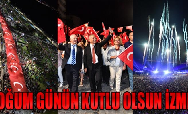 Doğum Günün Kutlu Olsun İzmir !