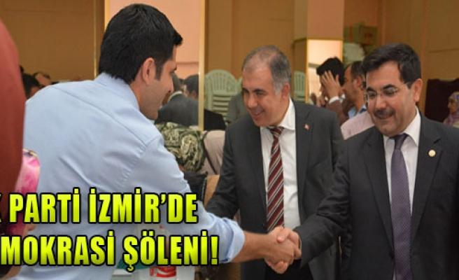 AK Parti İzmir'de Demokrasi Şöleni