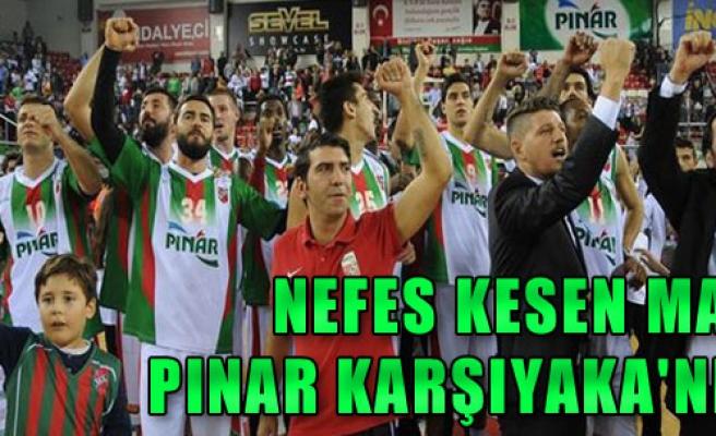 Pınar Karşıyaka: 74 - Trabzonspor Medical Park: 71