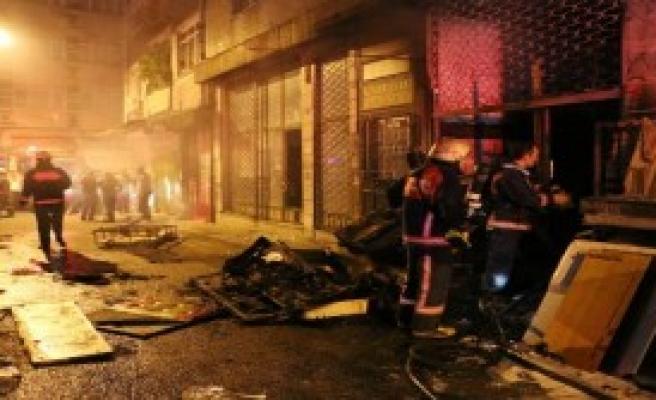 Fatih'te Yangın Seferberliği