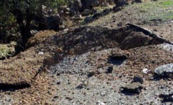 Lice Karayoluna 2 PKK Mayını İmha Edildi