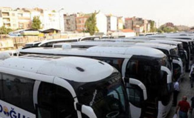 Bayram İçin Takviye Otobüsler Geliyor