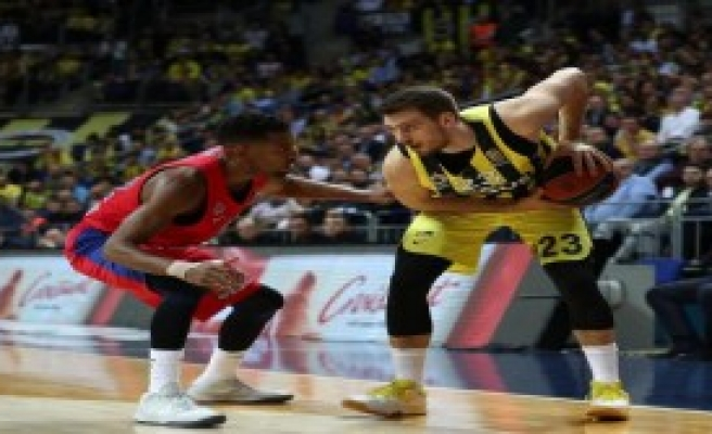 Fenerbahçe Doğuş - Cska Moskova: 79 - 81