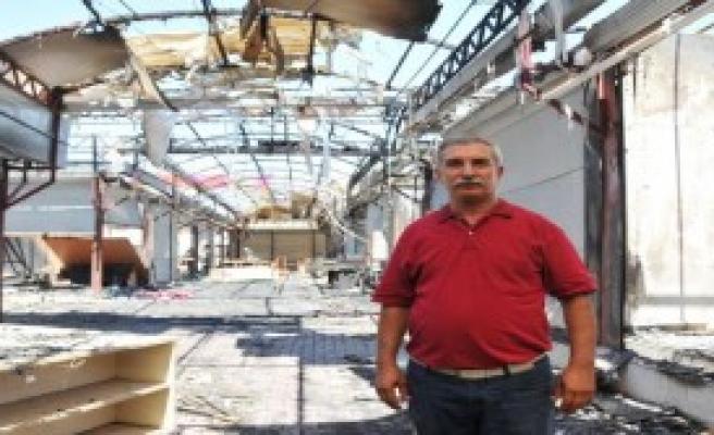 Festival Çarşısı'ndaki Yangının Zararı 1 Milyon Tl