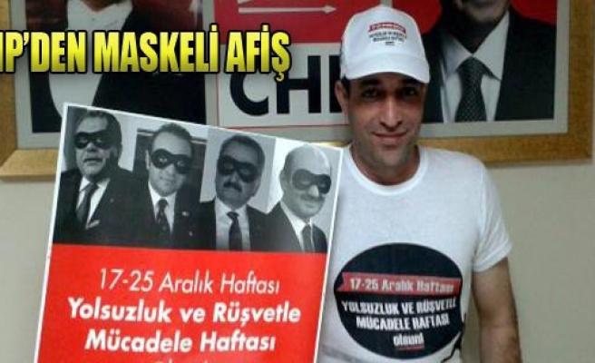CHP'den Maskeli Afiş