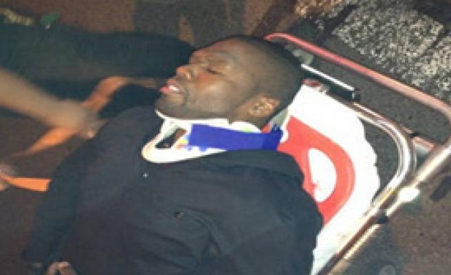 50 Cent Trafik Kazası Geçirdi