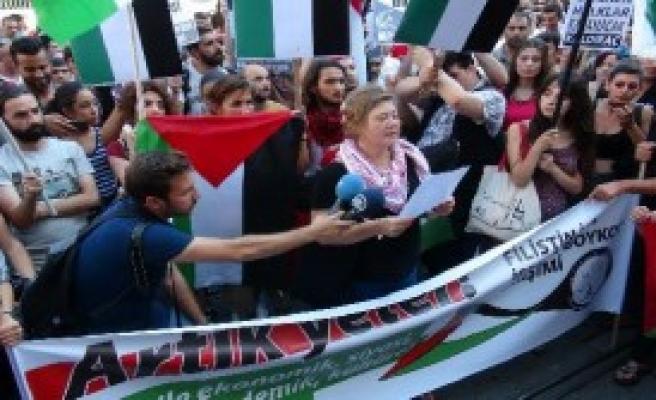 Filistin'e Destek, İsrail'e Boykot Çağrısı