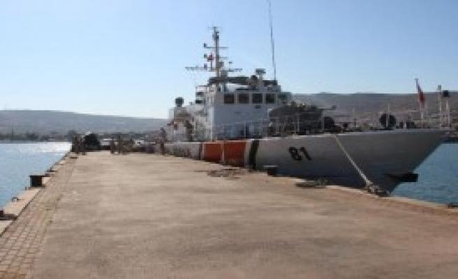 Foça'da 41 Kaçak Yakalandı