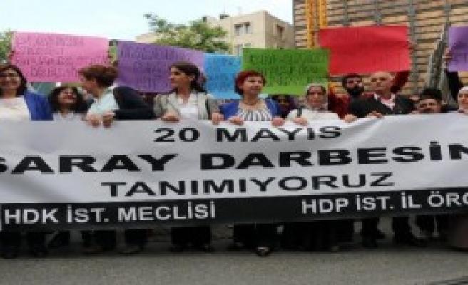 Galatasaray Meydanı'nda Protesto