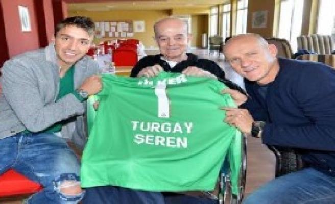 Turgay Şeren'e Ziyaret