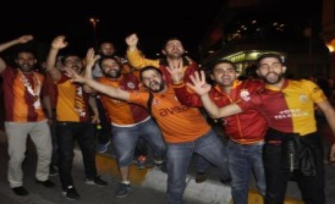 Taksim'de Şampiyonluk Kutlaması