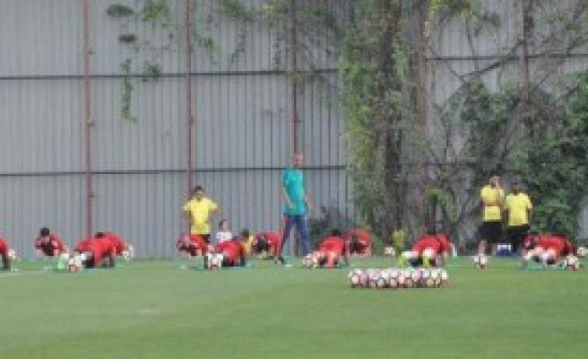 Gaziantepspor, Maça Hazırlanıyor