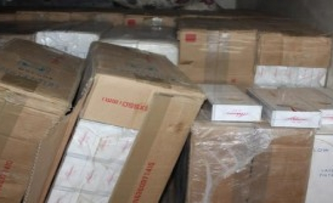 257 Bin Paket Kaçak Sigara Ele Geçirildi