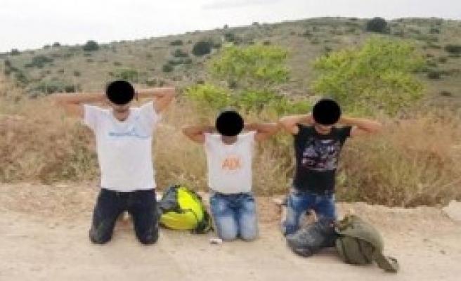 Gaziantep'te 3 PYD'li Yakalandı