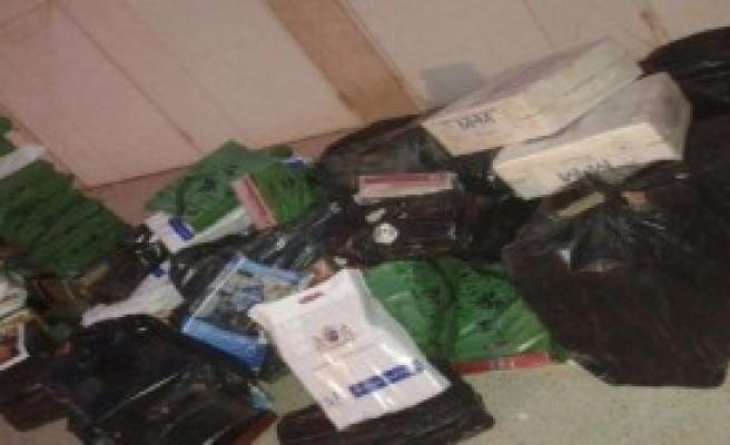 46 Bin Paket Kaçak Sigara Ele Geçti