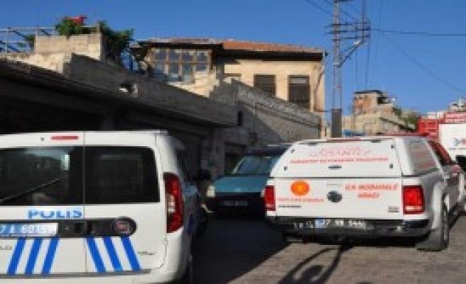 Gaziantep'te Evde Çıkan Yangın Korkuttu