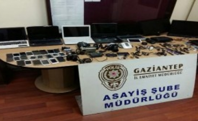 Hırsızlık Olaylarına 15 Tutuklama