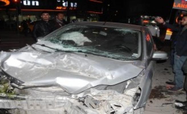 Gaziantep'te Kaza: 1 Yaralı