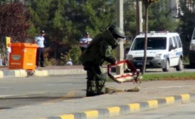 Gaziantep'te Şüpheli Bavul Paniği