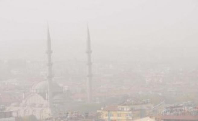 Gaziantep'te Toz Bulutu Etkili Oldu