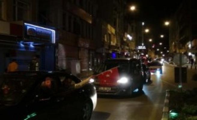 Gaziantep'ten Gidip Kilis'e Destek Verdiler