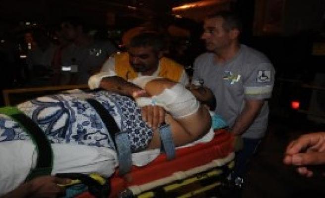 Gazze'den Türkiye'ye İlk Yaralı Getirildi