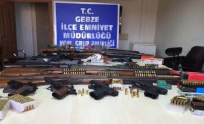 Gebze Merkezli Silah Kaçakçılığı Operasyonu