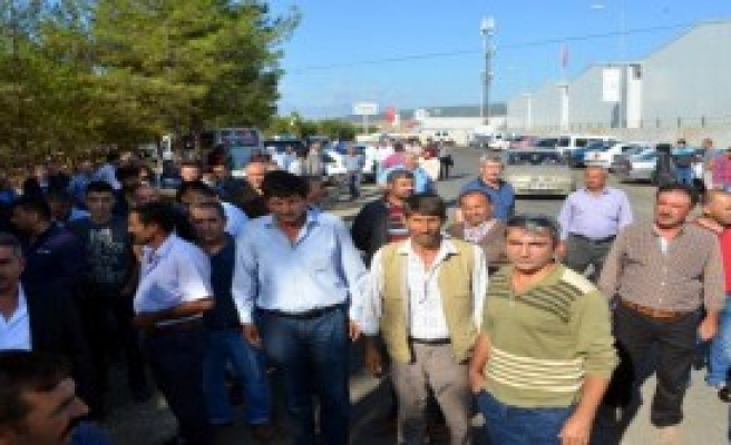 Barınma Merkezinde İşçiler Eylem Yaptı