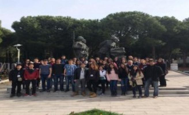 Gençler, Çanakkale Ruhunu Yaşadı