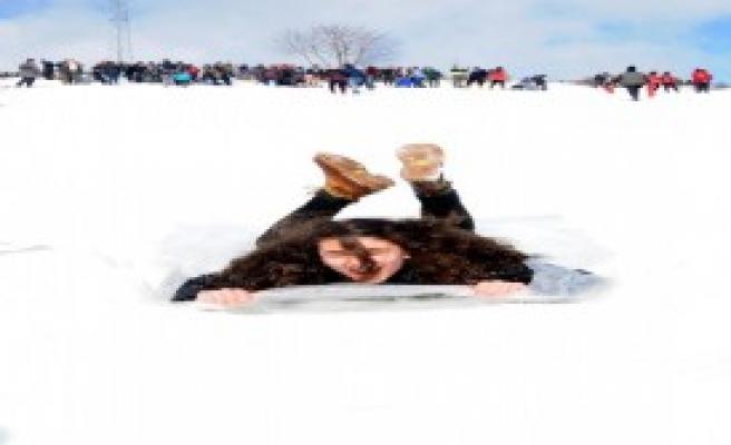 Giresun'da Kar Festivali