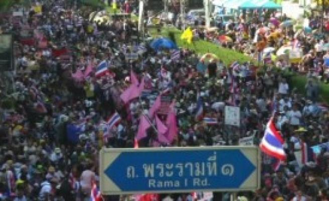 Göstericiler Başkenti Kapattı