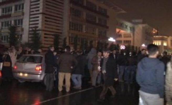 İstanbul Emniyeti Önünde Eylem