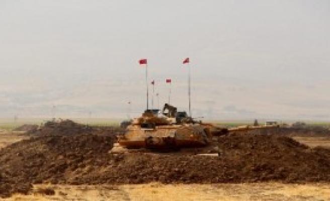 Habur'da Irak Askerleri İle Tatbikat Devam Ediyor