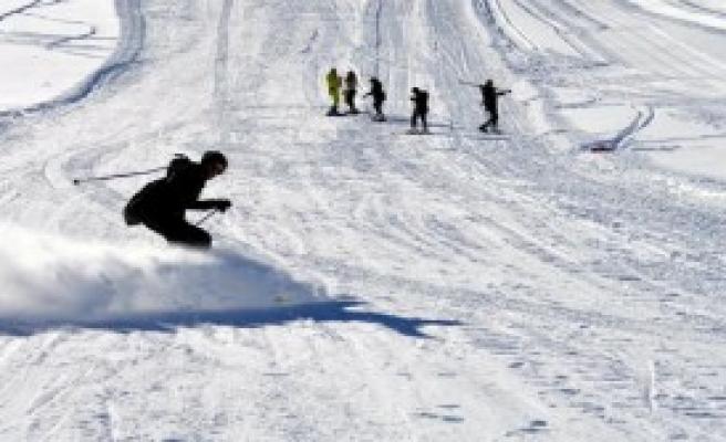 Kayak Ve Snowboard Gösterisi