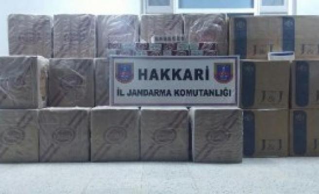 53 Bin Paket Kaçak Sigara Ele Geçirildi