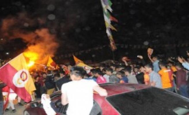 Hakkari'de Galatasaray Coşkusu