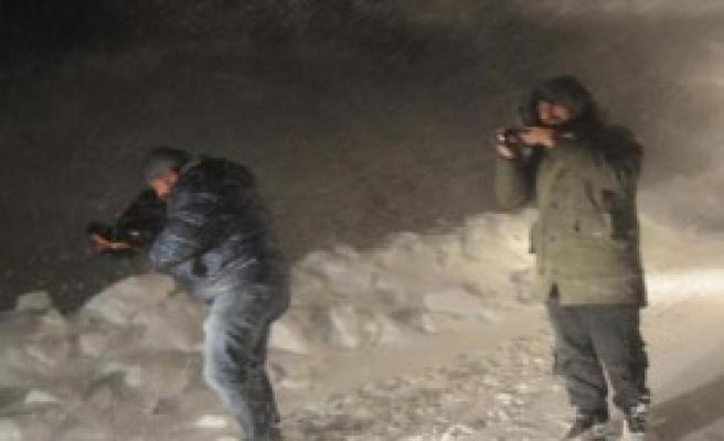 Hakkari'de Kar Çilesi Başladı