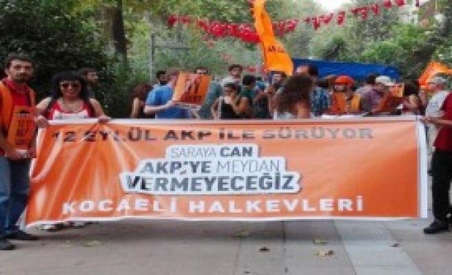 Halkevleri'nden 12 Eylül Protestosu